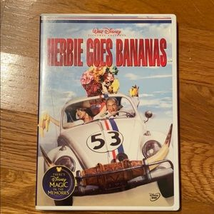 Herbie Goes Bananas- DVD